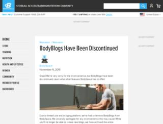 blog.bodybuilding.com screenshot
