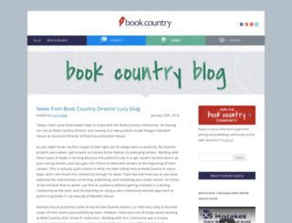 blog.bookcountry.com screenshot