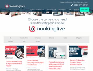 blog.bookinglive.com screenshot