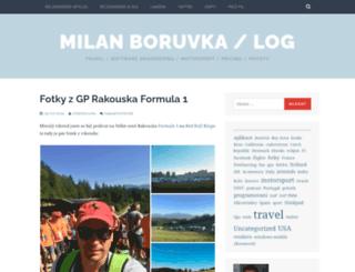 blog.boruvka.net screenshot