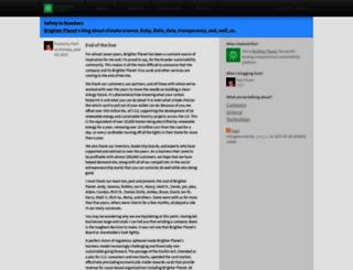 blog.brighterplanet.com screenshot