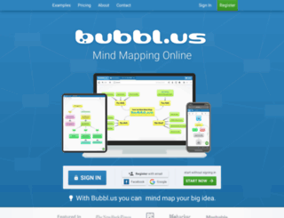 blog.bubbl.us screenshot
