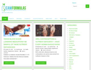 blog.camformulas.com screenshot