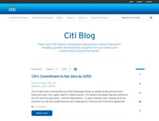blog.citimortgage.com screenshot