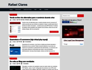 blog.clares.com.br screenshot