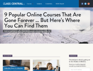 blog.class-central.com screenshot