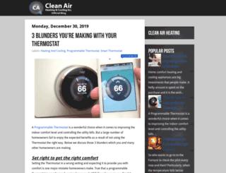 blog.cleanairheat.ca screenshot