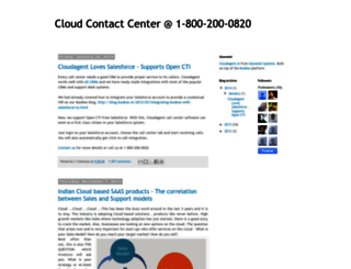blog.cloudagent.in screenshot