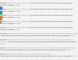 blog.cloudzon.com screenshot