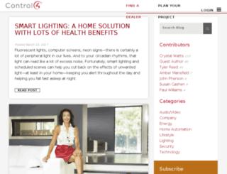 blog.control4.com screenshot