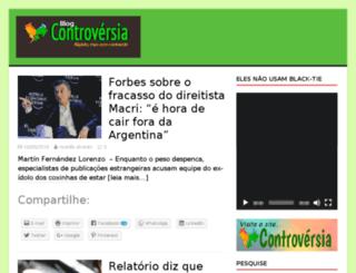 blog.controversia.com.br screenshot