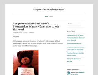 blog.couponroller.com screenshot