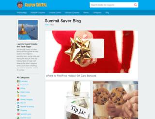 blog.couponsherpa.com screenshot