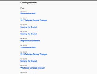 blog.crashingthedance.com screenshot