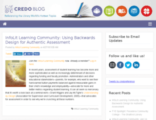 blog.credoreference.com screenshot