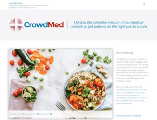 blog.crowdmed.com screenshot