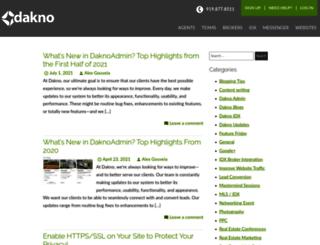 blog.dakno.com screenshot