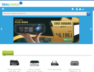 blog.dealharga.com screenshot