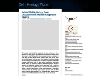 blog.delhiheritagewalks.com screenshot