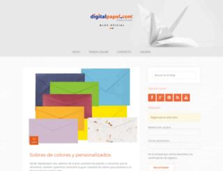 blog.digitalpapel.com screenshot