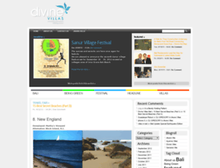 blog.divinevillasbali.com screenshot