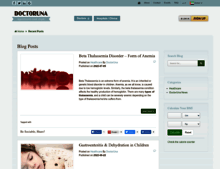 blog.doctoruna.com screenshot