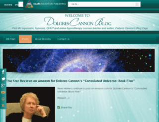 blog.dolorescannon.com screenshot