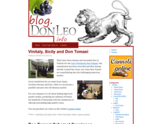 blog.donleo.info screenshot