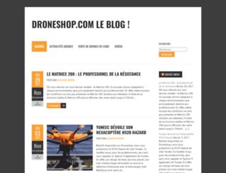 blog.droneshop.com screenshot