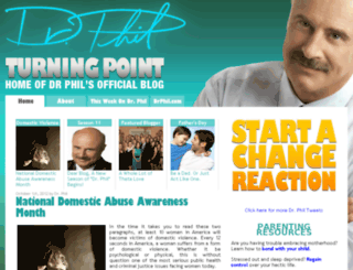 blog.drphil.com screenshot
