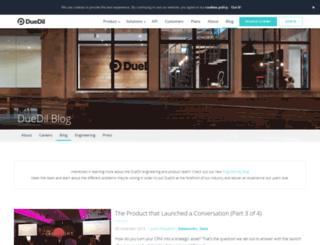 blog.duedil.com screenshot
