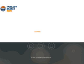 blog.dunkest.com screenshot
