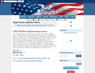 blog.eagleforum.org screenshot