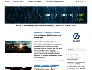 blog.economie-numerique.net screenshot