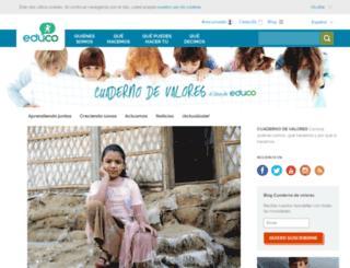 blog.educo.org screenshot