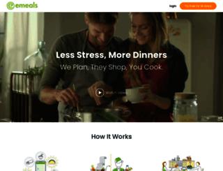 blog.emeals.com screenshot