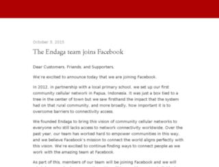 blog.endaga.com screenshot