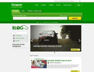 blog.europcar.co.uk screenshot