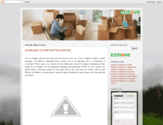 blog.ezmove.in screenshot