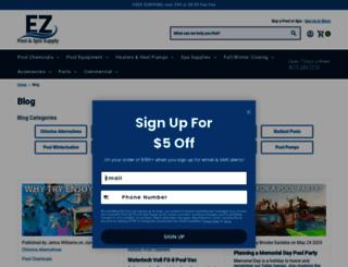 blog.eztestpools.com screenshot