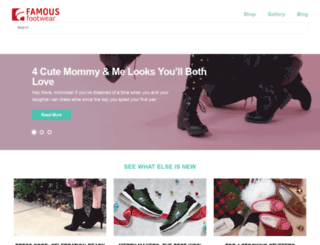 blog.famousfootwear.com screenshot