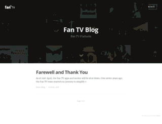 blog.fan.tv screenshot