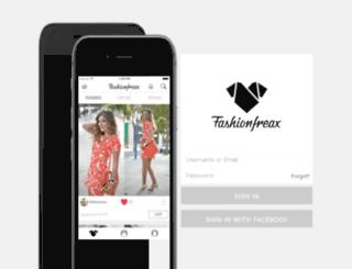 blog.fashionfreax.net screenshot