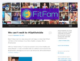 blog.fitfam.com screenshot
