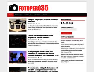 blog.fotoperu35.com screenshot