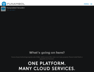 blog.funambol.com screenshot