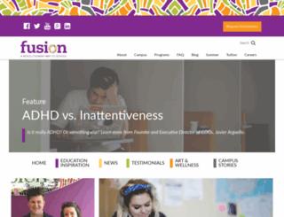 blog.fusionacademy.com screenshot