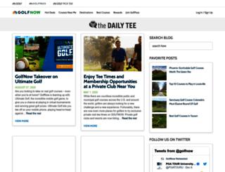 blog.golfnow.com screenshot