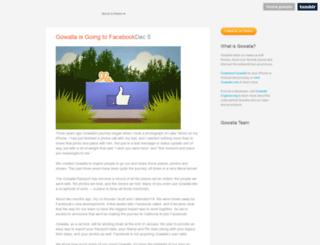 blog.gowalla.com screenshot