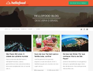 blog.hellofood.com.br screenshot